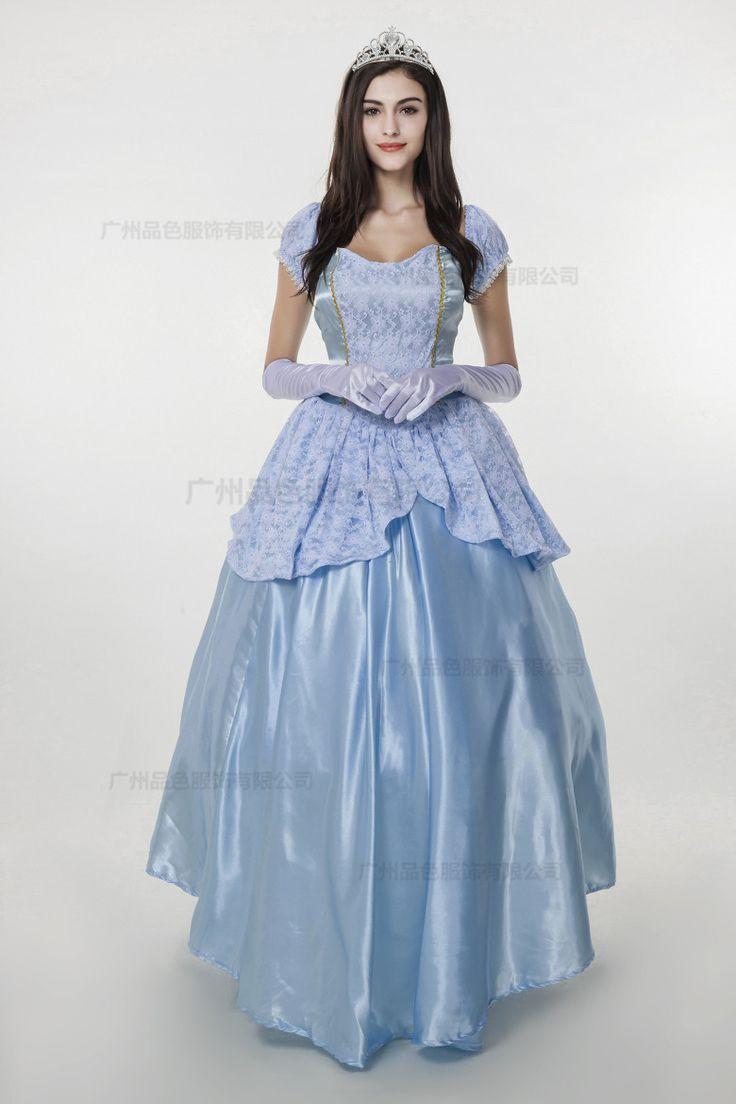 Новый 2016 фантазия женщины хэллоуин косплей южный красоты и чудовище взрослых принцесса белль костюм купить на AliExpress