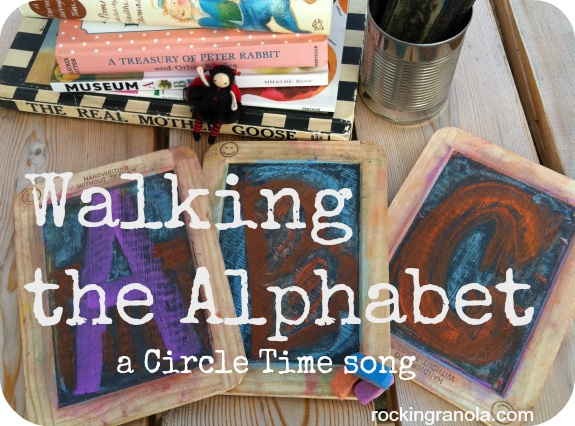 Walking the Alphabet (song for Circle Time)