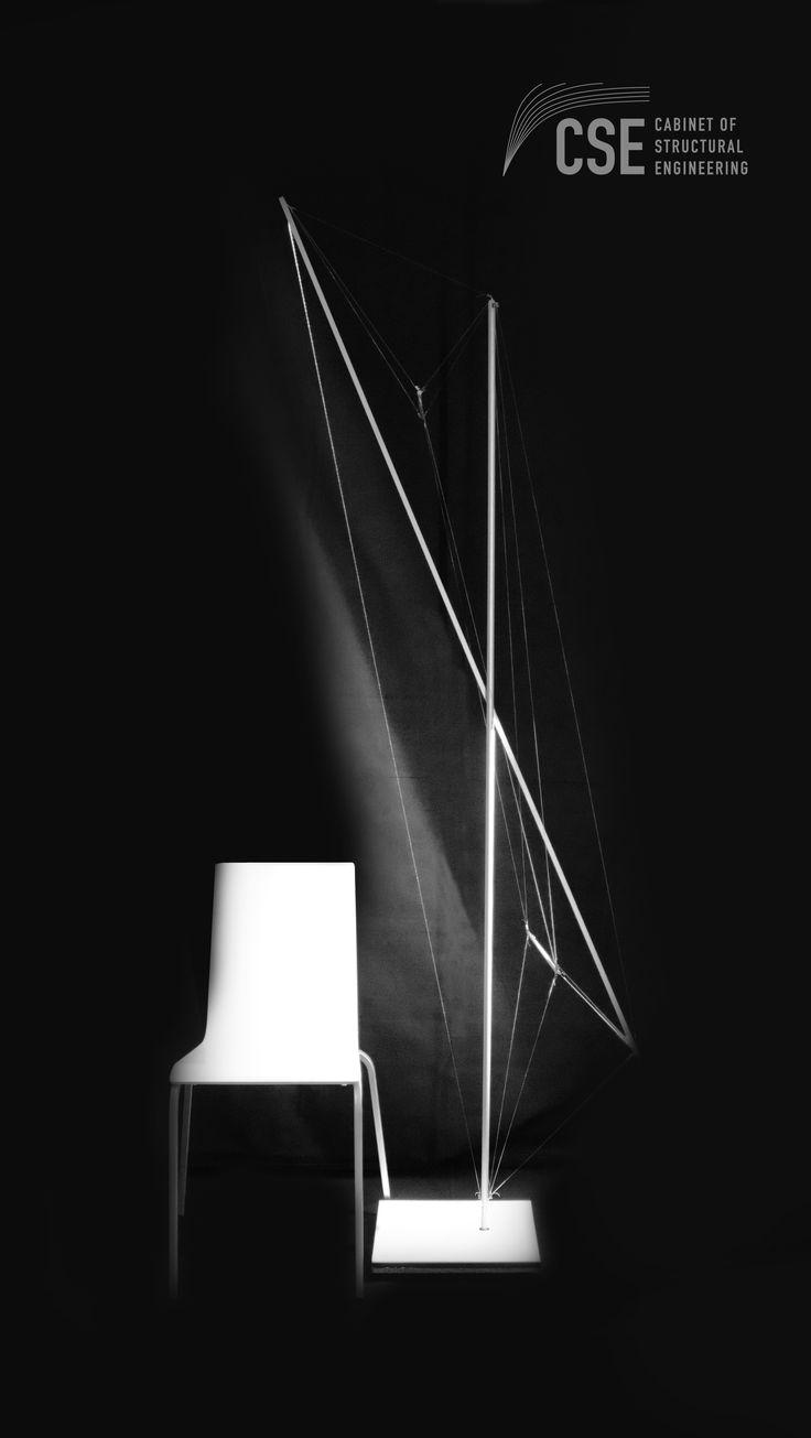 Tensegrity Lighting /Sabah Shawkat 2017/