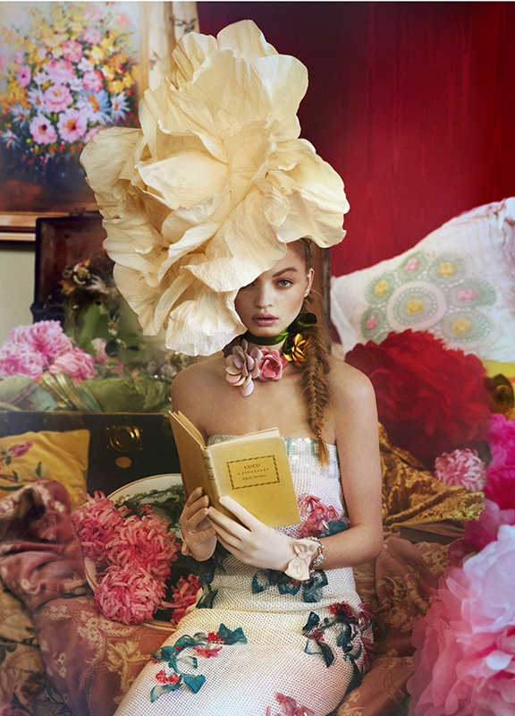 Floral for Town & Country by Ruven Afanador