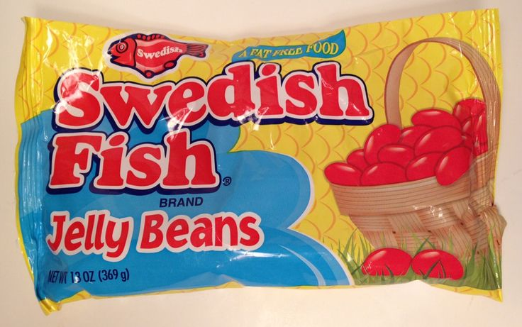 298 best happy easter images on pinterest happy for Swedish fish jelly beans