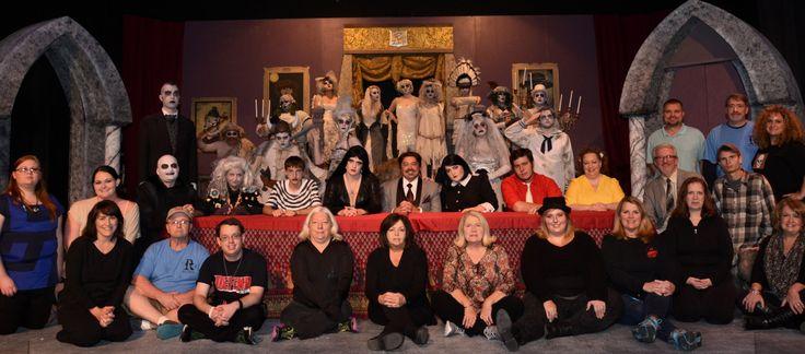 Addams Family Cast Photo