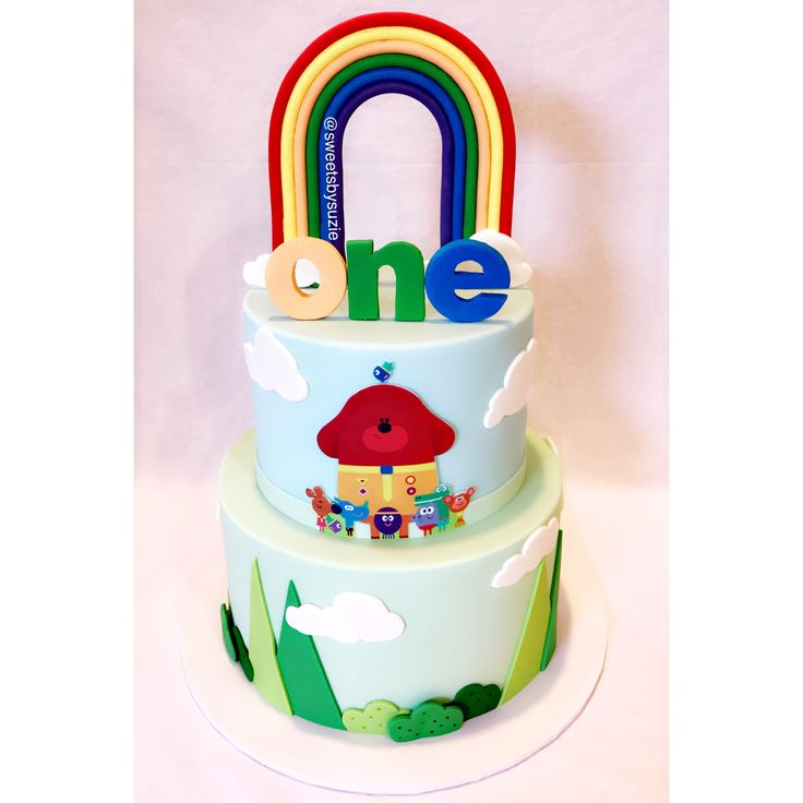 Duggee 1st Birthday Cake made by SweetsBySuzie in Melbourne