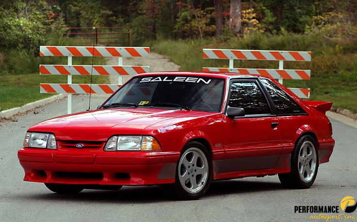 93 Mustang Saleen Coupe