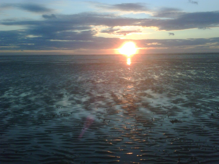 Sunset at Formby Beach