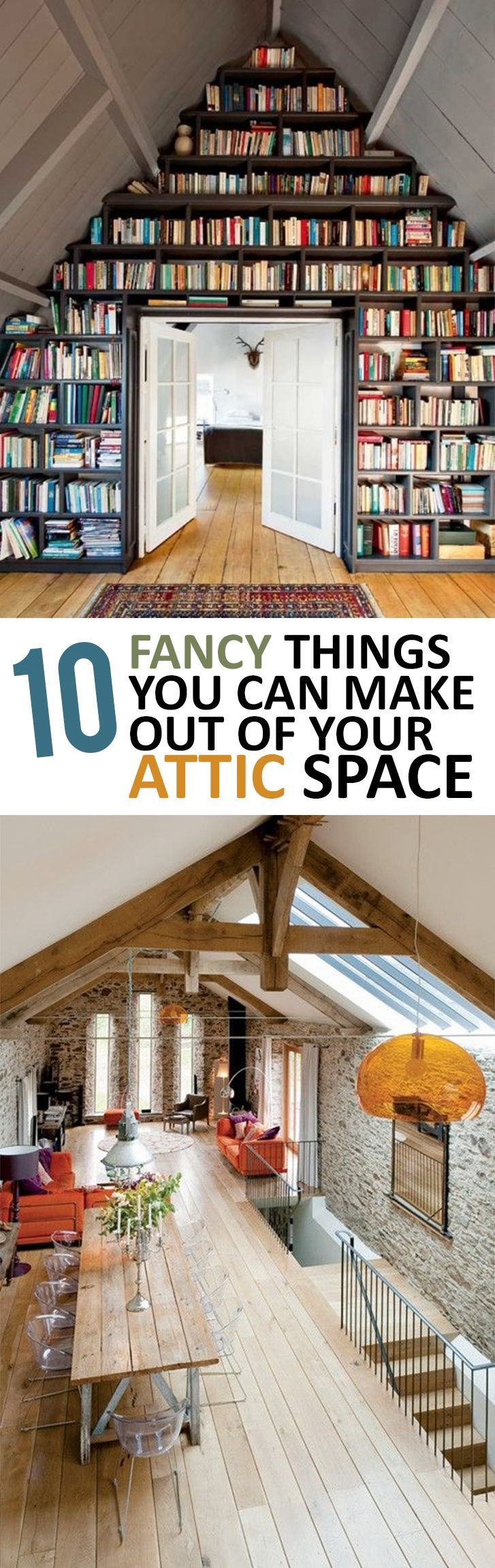 ideas for attic storage closet - 1000 ideas about Attic Spaces on Pinterest
