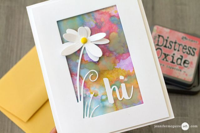 Distress Oxide Inks + LOTS of Cards + GIVEAWAY | Jennifer McGuire Ink | Bloglovin'