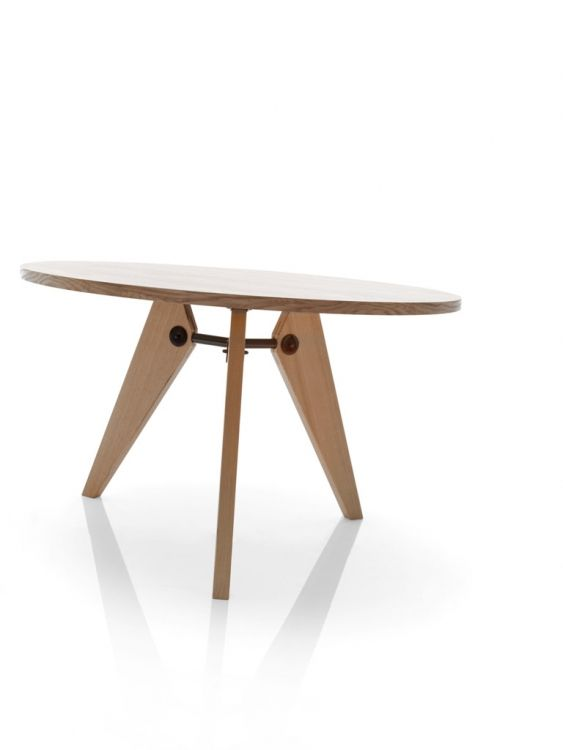 S lida mesa de comedor fabricada en madera de fresno - Mesa de comedor redonda ...