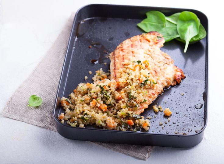 Cajun Chicken & Spiced Quinoa – Kayla Itsines