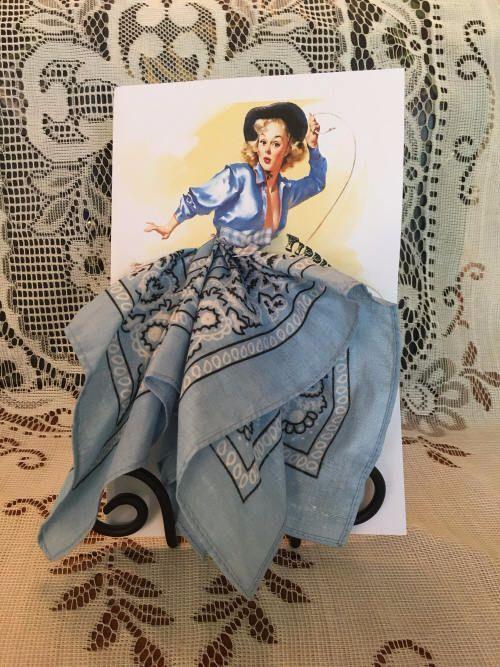 Мастер класс открыток с использованием платочков