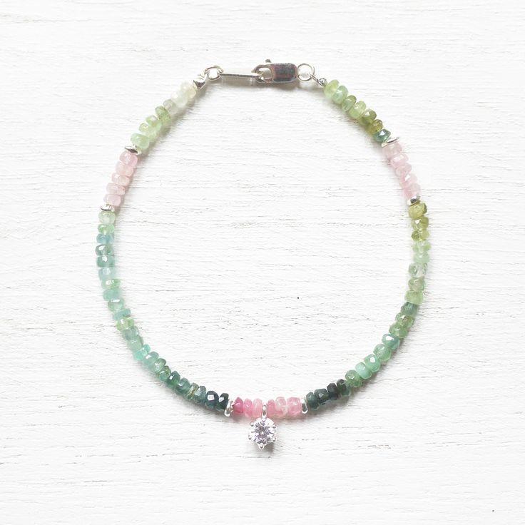 Secrete Garden - Tourmaline 925 Sterling Silver Bracelet