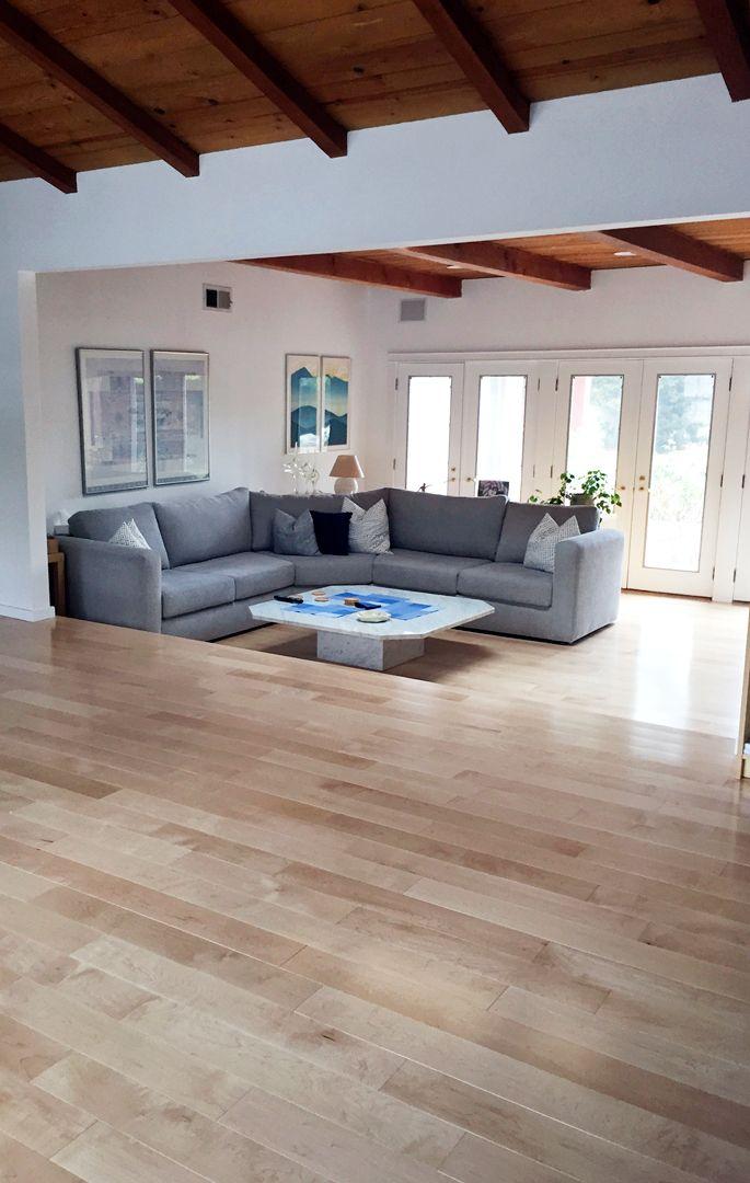 "Maple Natural - 5"" - Garrison Hardwood Flooring Living ..."