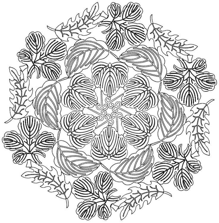 Coloriage de mandala gratuit dessins colorier - Coloriages mandalas ...