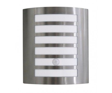 $79.95   Lancelot Wall Sconce With Sensor In Stainless Steel,Lighting,Beacon Lighting