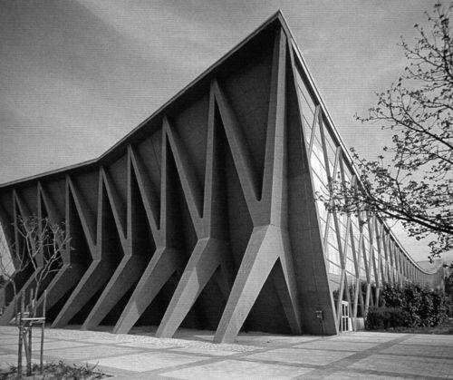 Ivan Vitic - exhibition pavilion Zagreb - 1958