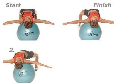 Start now!!! http://www.reachyourfitnessgoal.org: Balance Ball Exercises, Abs Exercise, Ab Exercises, Fitball Exercises, Exercise Ball, Ball Abs, Lower Back Exercises