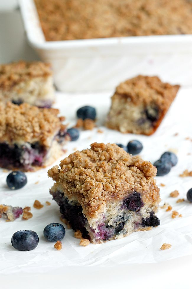 Blueberry Banana Crumb Cake - Fabtastic Life FoodBlogs.com