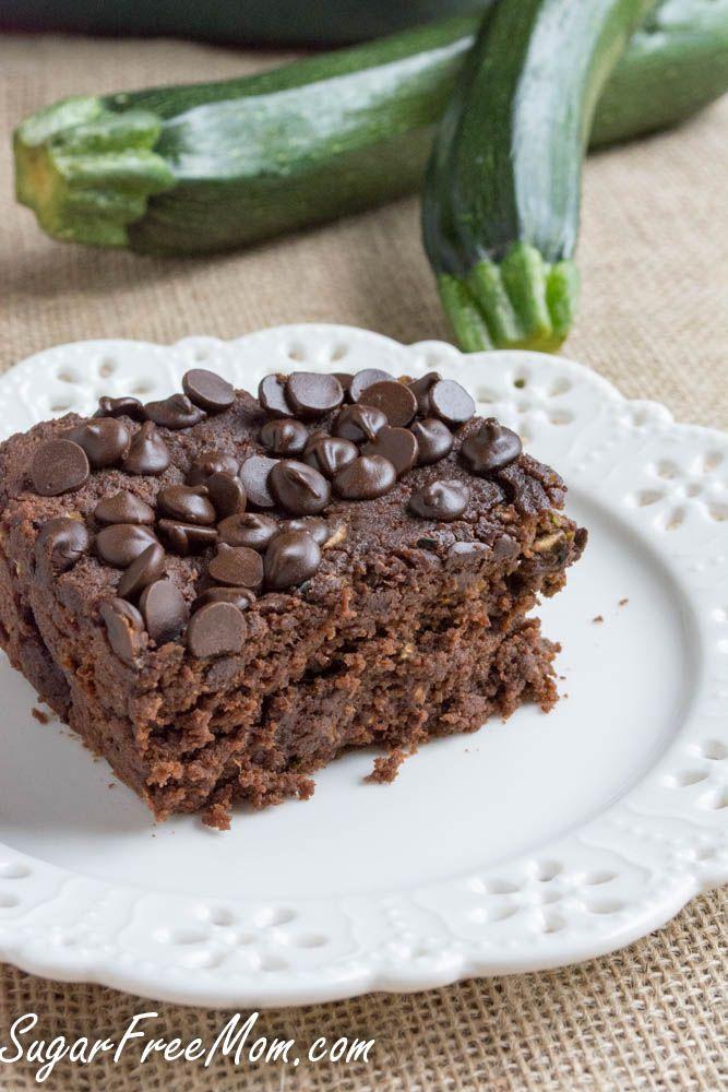 Crock Pot Sugar-Free Chocolate Zucchini Cake