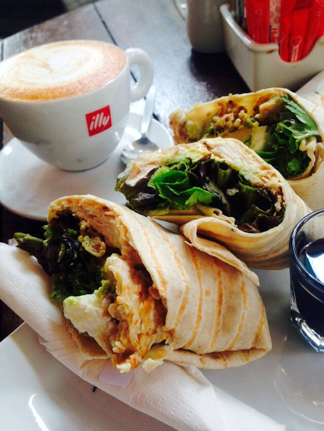 Java wrap👌 Red Cappuccino.