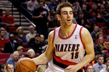 Portland Trailblazers #18 Victor Claver -- Power Forward