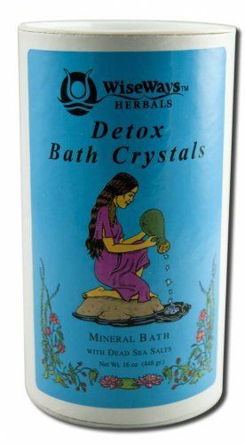 WiseWays Herbals Detox Bath Crystals 16 oz. by Wise Ways Herbals. Save 15 Off!. $10.88. 16 Ounces Granule. Serving Size:. A Rejuvenating and Cleansing BathThe ocean, mineral and hot springs baths have been used for centuries world wide, for their therapeutic effects. In spas and healing centers today, the use of water therapy is popular once again. Bathing in these healing waters helps to release toxins, promote energy, circulation and well being. DETOX Bath is a unique blen...