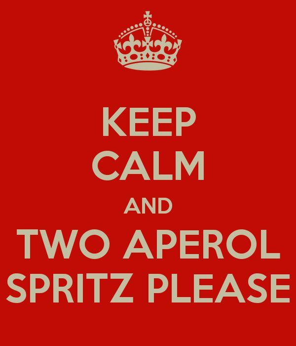 Aperol spritz my favorite drink I found while Living in Austria!