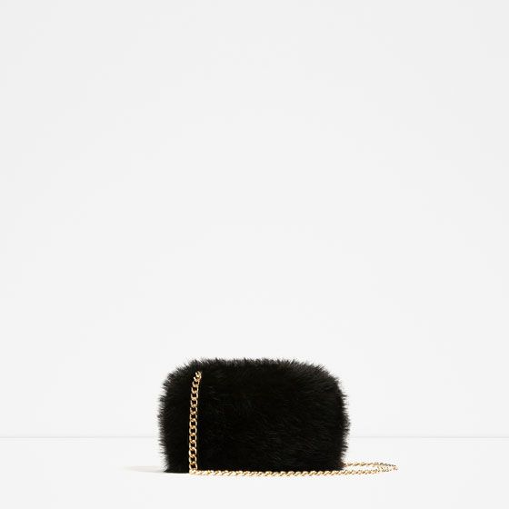 FAUX FUR MINAUDIERE – Available in more colours