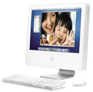Brian's 1st iMac, I convinced him to switch to mac! Ha Ha Ha!