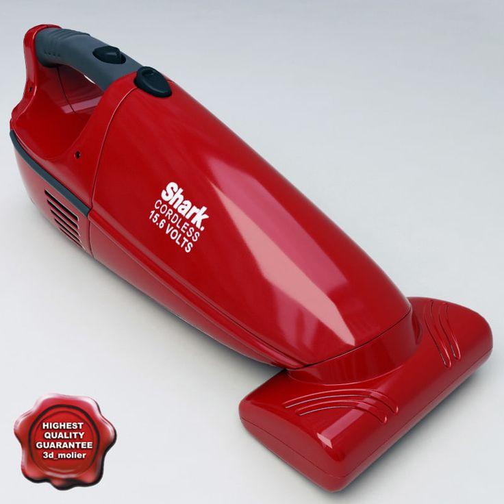 3D Model Vacuum Cleaner Shark - 3D Model
