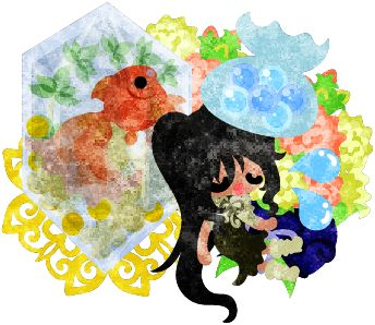 フリーイラスト素材病気の可愛い女の子と金魚鉢  Free Illustration A cute little girl who is ill and a goldfish bowl   http://ift.tt/2tDD6Fh