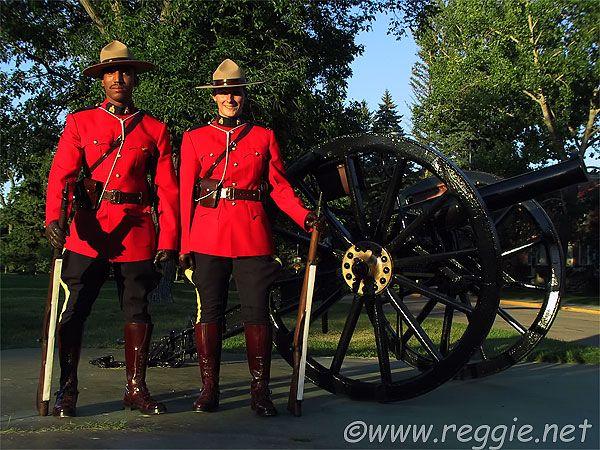 At Ease, Royal Canadian Mounted Police, Regina, Saskatchewan
