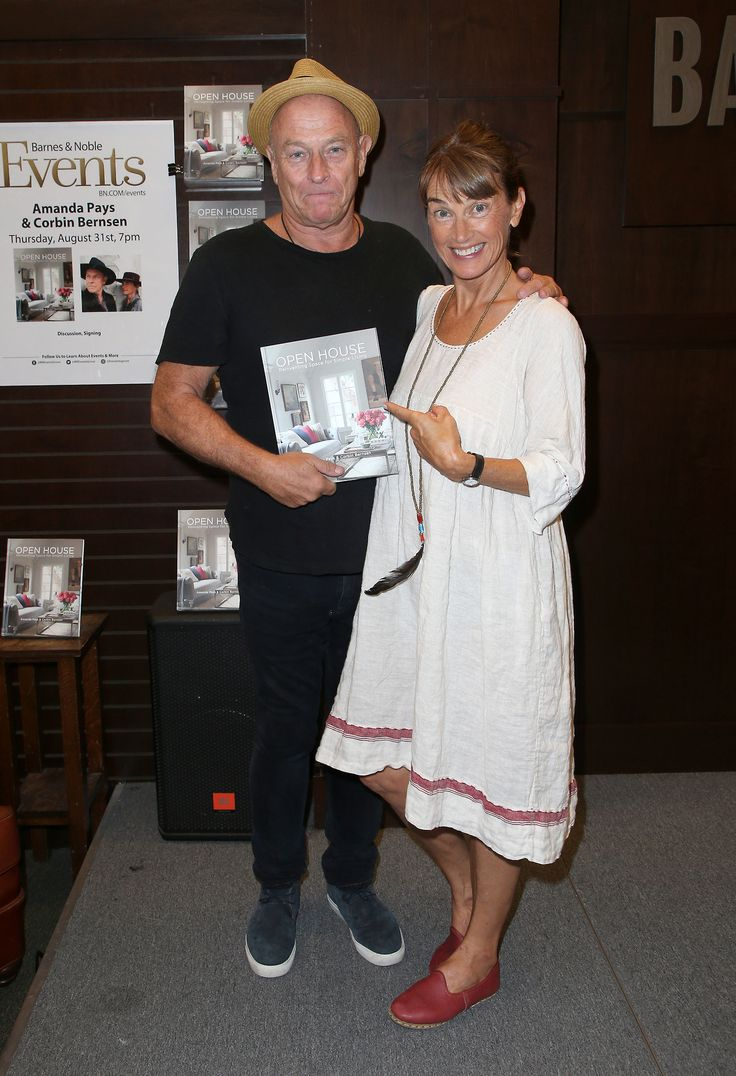 Sunny mabrey quotes quotations and aphorisms from openquotes quotes - Corbin Bernsen And Amanda Pays Sign Their New Book Open House Reinventing Space For Simple