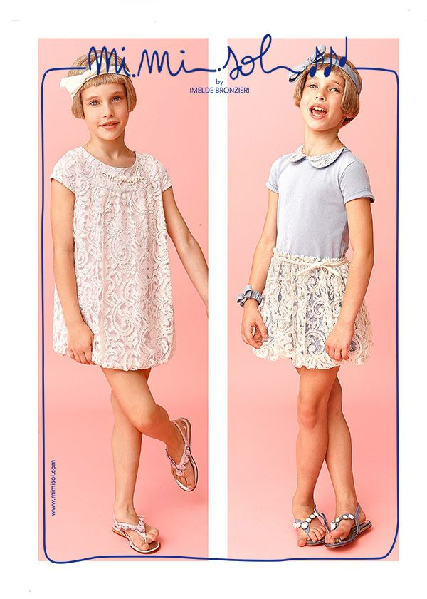 Like a perfumed daisy I feel a princess lady Love this white lace I can dress it in any place! #mimisol #fashion #ceremony #SS2014 #imeldebronzieri #dress #children'scollection #daisy #princess