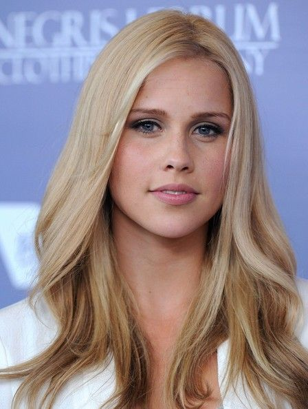Claire Holt. Love her character in Vampire Diaries. She is so beautiful!