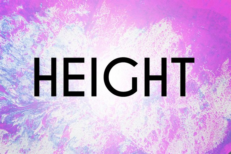 How To Pronounce The Word Quot Height Quot English