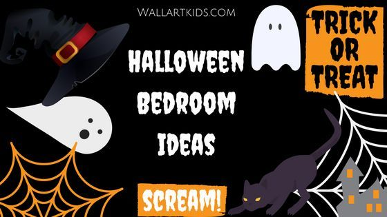 Is your child a huge Halloween fan? Check out this Halloween bedroom ideas! http://wallartkids.com/halloween-bedroom-ideas-spooky