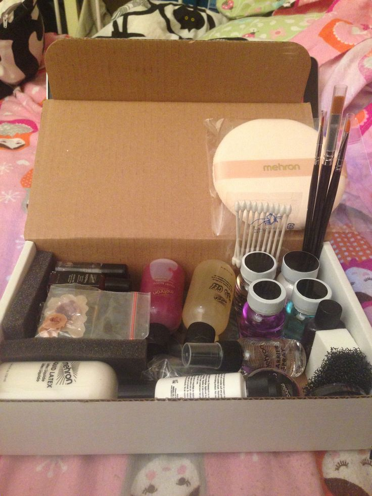 Amazing New Mehron Special Effects Makeup Kit Tools