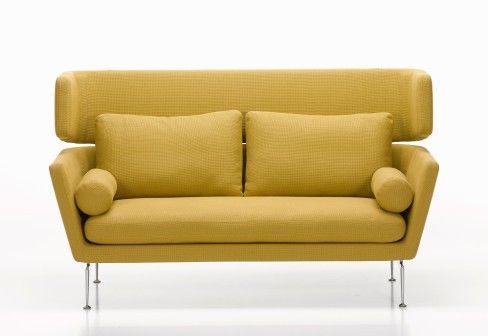 vitra suita sofa mit hoher r ckenlehne. Black Bedroom Furniture Sets. Home Design Ideas
