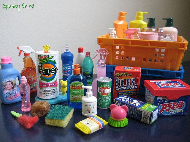 Miniature - Re-Ment Household Cleaning Supplies | Flickr - Photo Sharing!