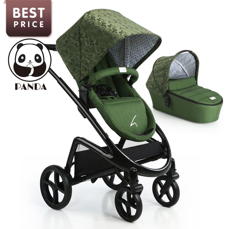2017 Babypanda Store Pram Baby Stroller For Newborns Portable Can Sit And Lie Down Folding Baby Car Baby Strollers Brands