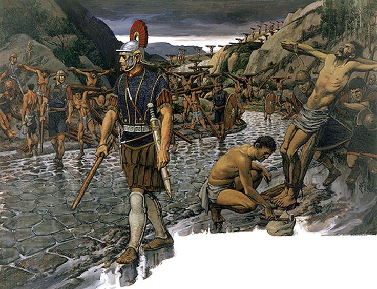 slavery in the roman empire Roman slavery and the question of race a black african or that some slaves in the roman empire were conquest and slavery shaped roman perceptions.
