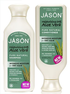 Aloe Vera Shampoo and Conditioner from JASON  Review on Biteable Beauty