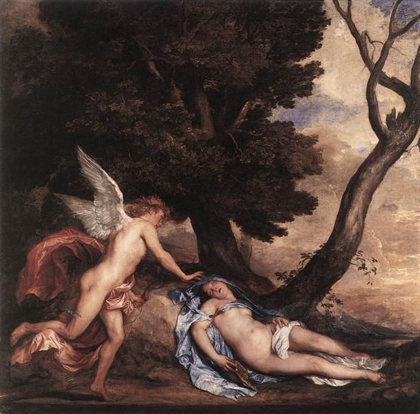 Cupid and Psyche - van Dyck Anthony