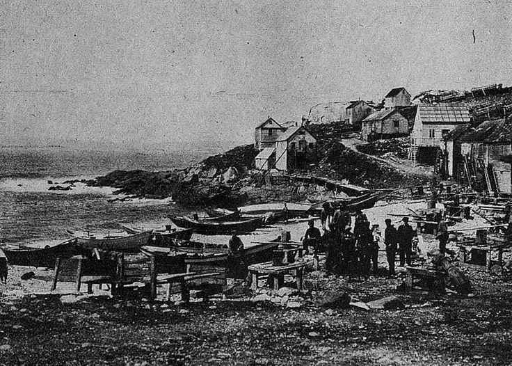 Saint-Pierre in 1921, Saint Pierre and Miquelon