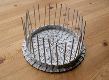 How to make a cover for a paper basket - tutorial.