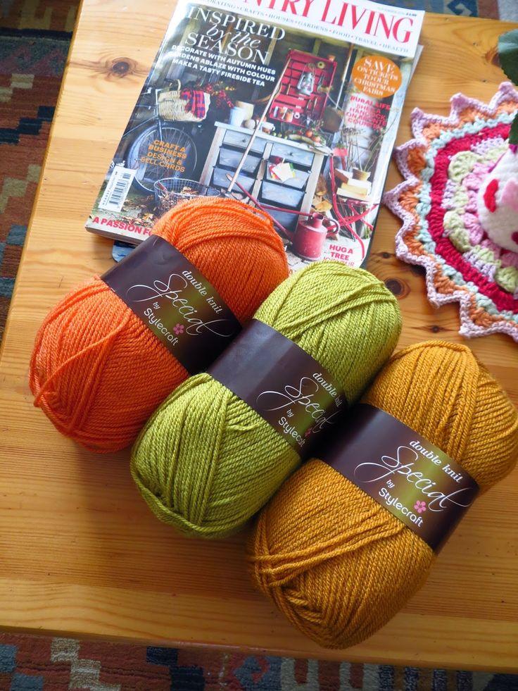 Stylecraft Special DK: Spice, Lime, Gold @ Bunny Mummy