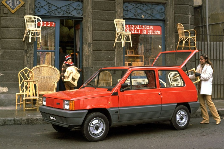 Fiat Panda Presse Foto