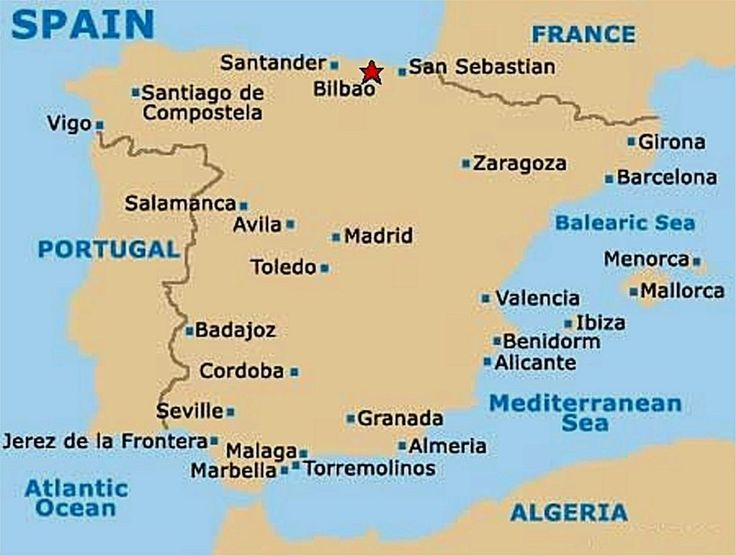 North of Spain, it is an amazing part of Spain, the Basque country will leave you speechless