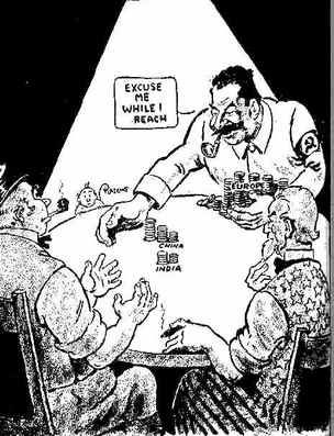 Yalta Conference Tensions This Cartoon By The American Cartoonist
