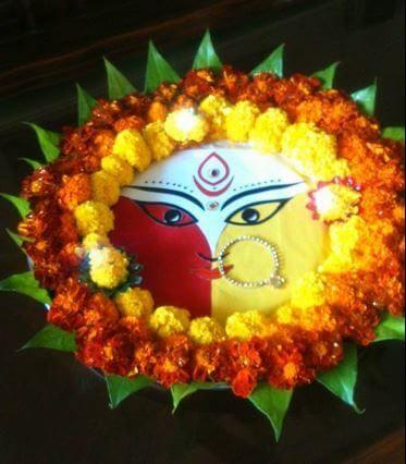 Navratri Aarti Thali Decoration Ideas